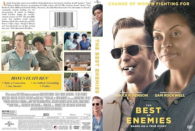 dvd cover The Best of Enemies DVD Cover