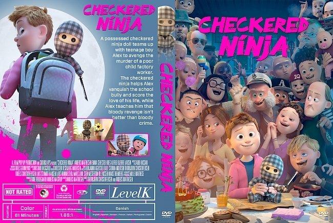 dvd cover Checkered Ninja DVD Cover