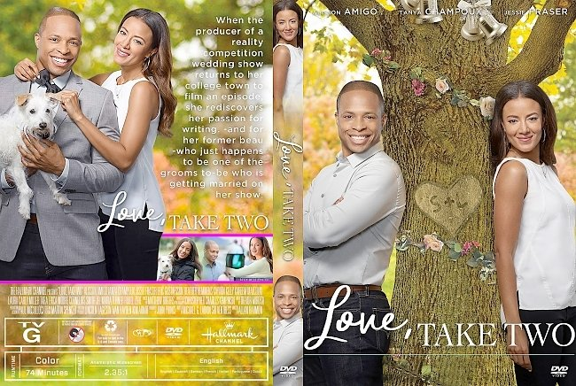 dvd cover Love, Take Two DVD Cover