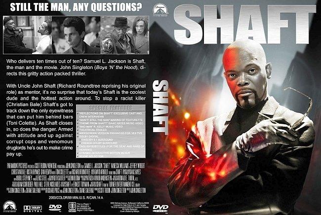 dvd cover Shaft (2000) DVD Cover