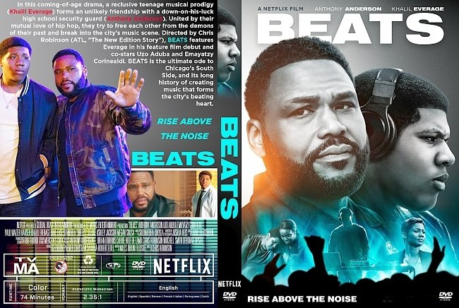 dvd cover Beats DVD Cover