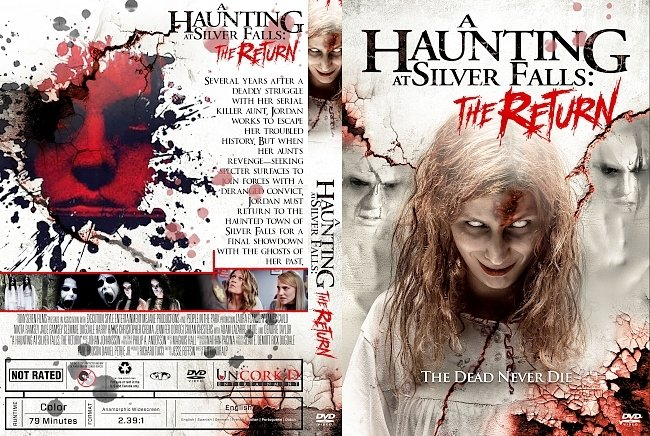 dvd cover A Haunting at Silver Falls: The Return DVD Cover