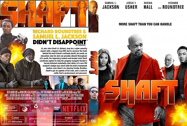 dvd cover Shaft 2019 DVD Cover