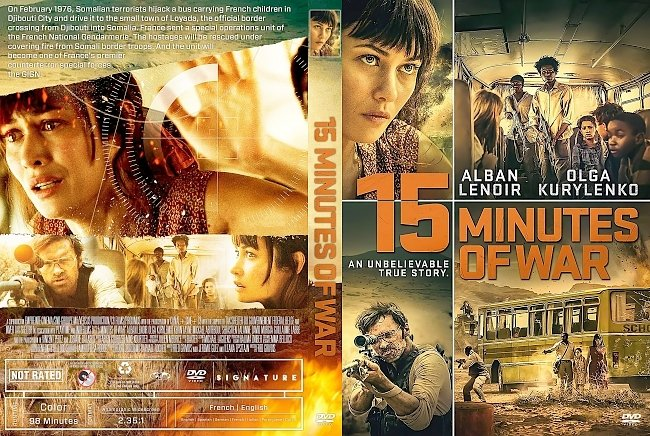 dvd cover 15 Minutes Of War DVD Cover