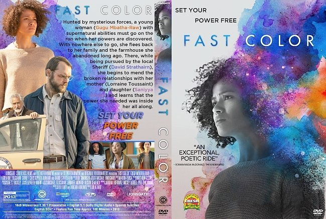 dvd cover Fast Color DVD Cover