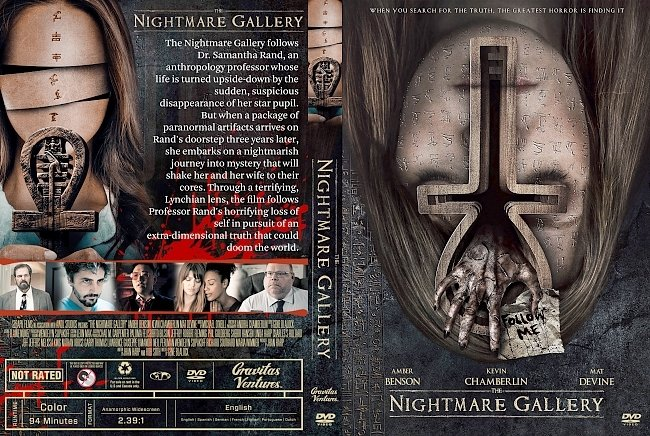 dvd cover The Nightmare Gallery DVD Cover