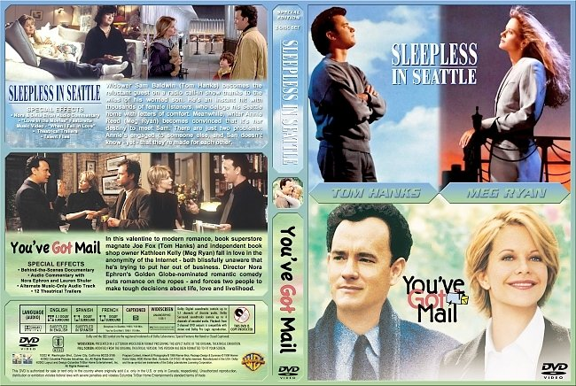 dvd cover Sleepless In Seattle Double Feature DVD Cover