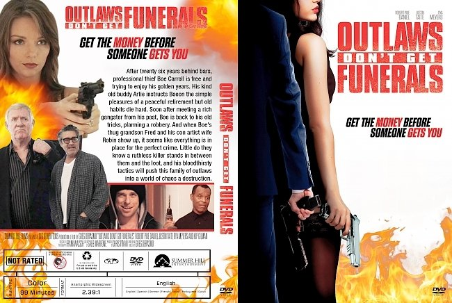 dvd cover Outlaws Don't Get Funerals DVD Cover