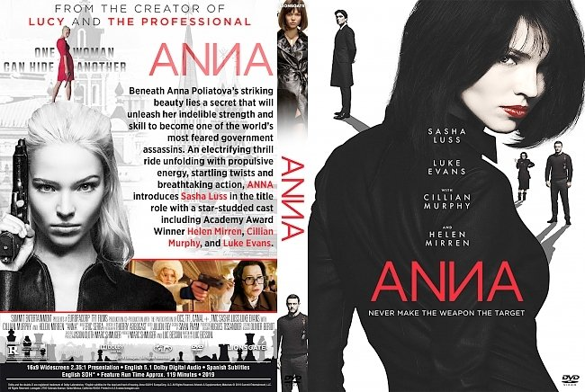 dvd cover Anna DVD Cover