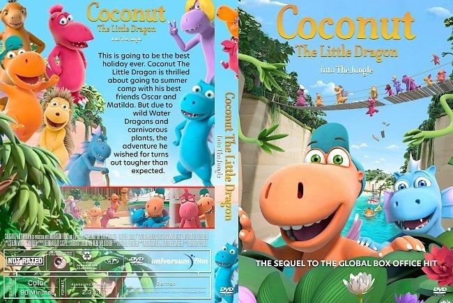 dvd cover Coconut the Little Dragon 2: Into the Jungle DVD Cover