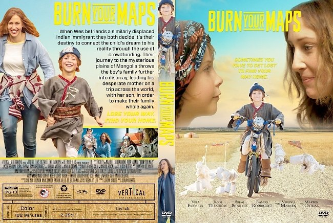 dvd cover Burn Your Maps DVD Cover