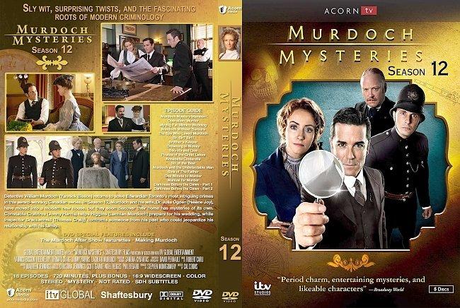 dvd cover Murdoch Mysteries - Season 12 DVD Cover