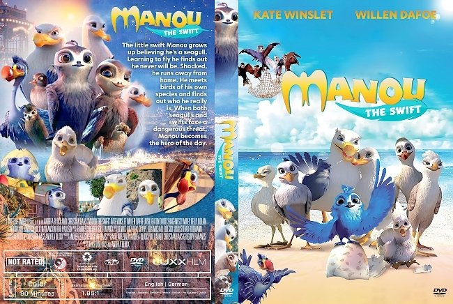 dvd cover Manou the Swift DVD Cover