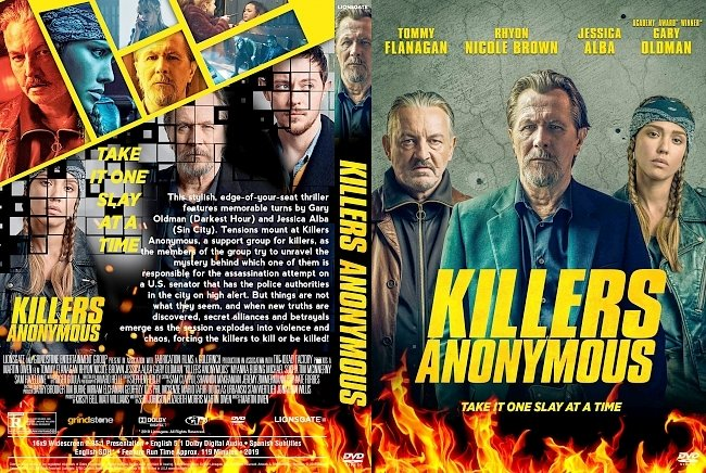 dvd cover Killers Anonymous DVD Cover