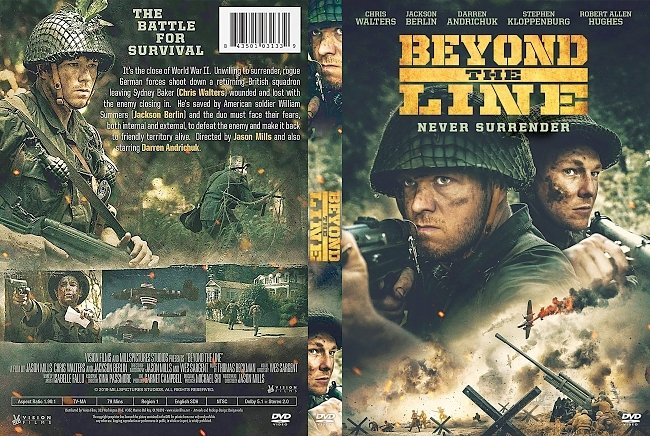 dvd cover Beyond the Line DVD Cover