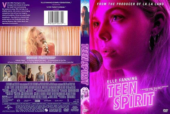 dvd cover Teen Spirit DVD Cover