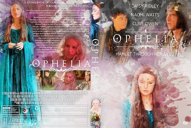 dvd cover Ophelia DVD Cover (alternative)