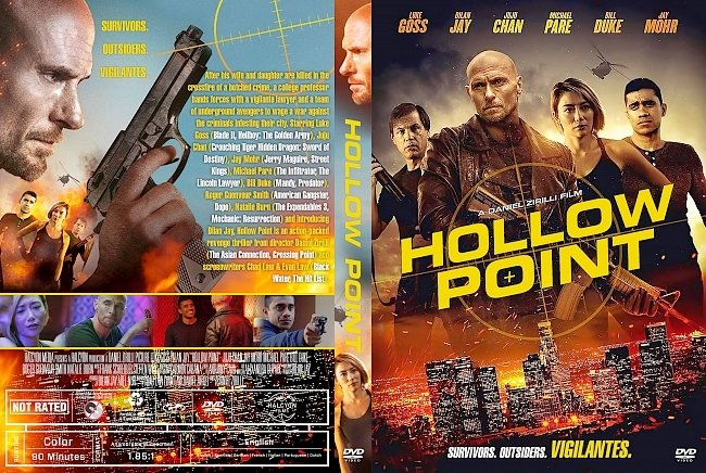 dvd cover Hollow Point DVD Cover