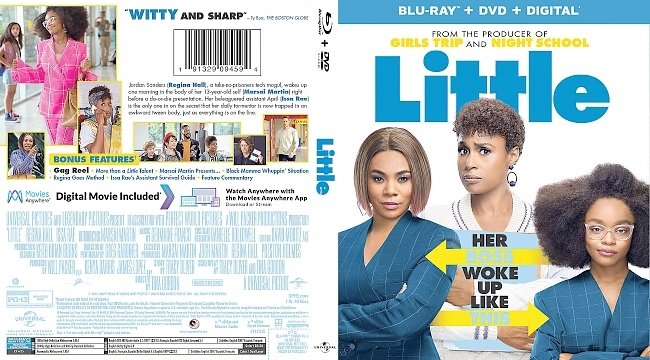 dvd cover Little Bluray Cover