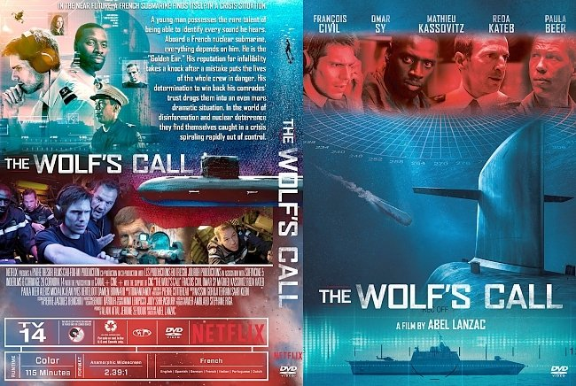 dvd cover The Wolf's Call (Le chant du loup) DVD Cover