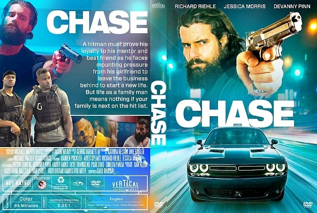 dvd cover Chase DVD Cover