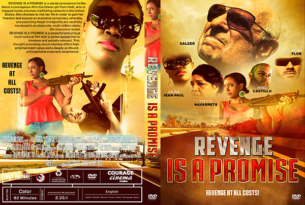 dvd cover Revenge Is a Promise DVD Cover