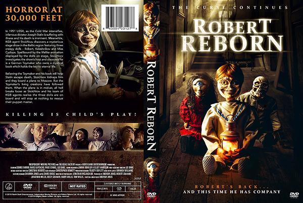 dvd cover Robert Reborn DVD Cover