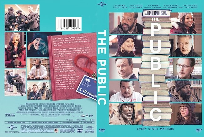 dvd cover The Public DVD Cover