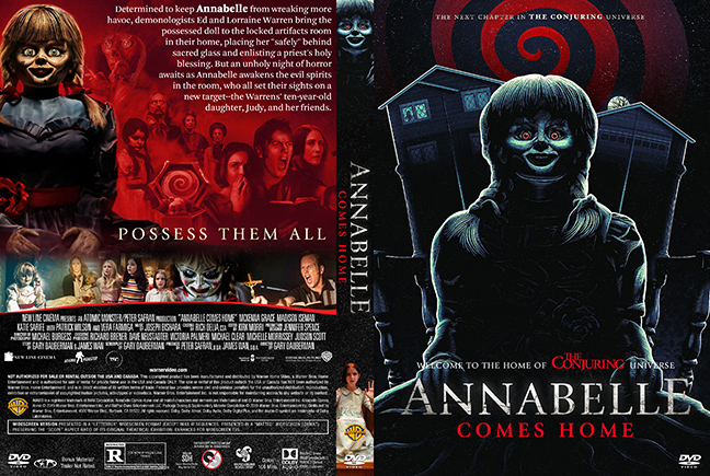 dvd cover Annabelle Comes Home DVD Cover