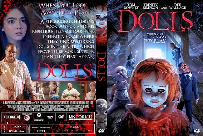 dvd cover Dolls DVD Cover