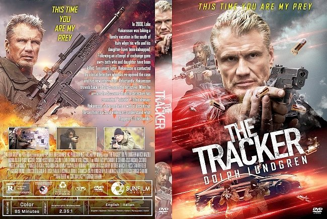 dvd cover The Tracker DVD Cover