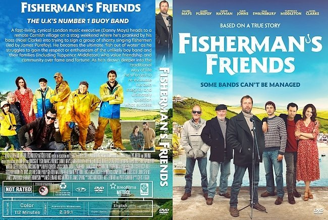 dvd cover Fisherman's Friends DVD Cover