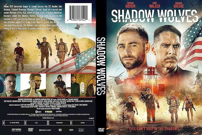 dvd cover Shadow Wolves DVD Cover