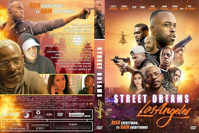 dvd cover Street Dreams Los Angeles DVD Cover