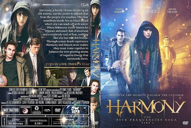 dvd cover Harmony DVD Cover