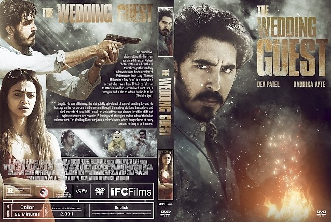 dvd cover The Wedding Guest DVD Cover