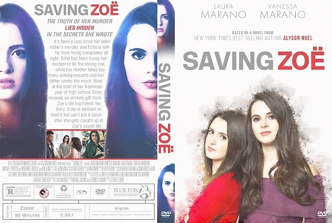 dvd cover Saving Zoe DVD Cover