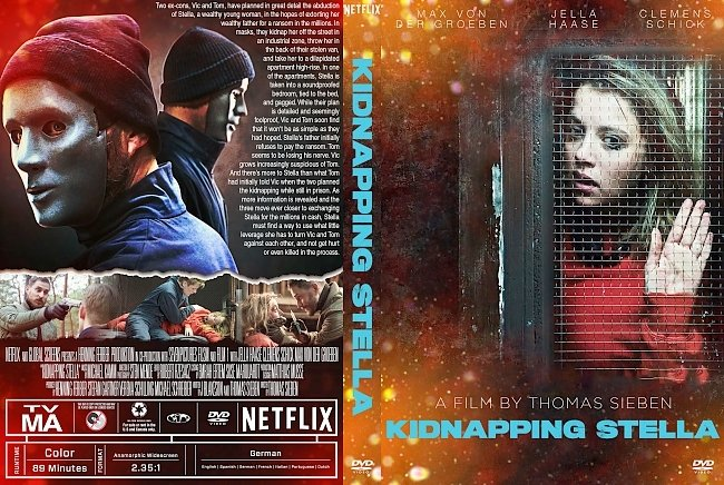 dvd cover Kidnapping Stella DVD Cover