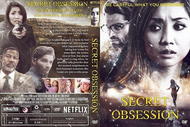 dvd cover Secret Obsession DVD Cover