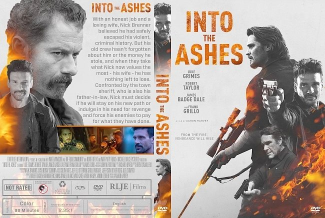 dvd cover Into the Ashes DVD Cover