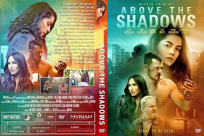 dvd cover Above The Shadows DVD Cover
