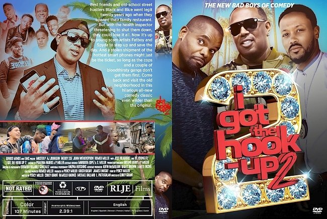 dvd cover I Got the Hook Up 2 DVD Cover