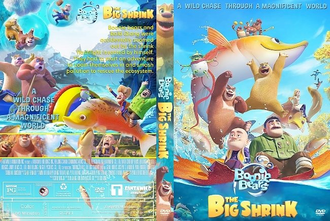 dvd cover Boonie Bears The Big Shrink DVD Cover