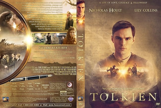 dvd cover Tolkien DVD Cover