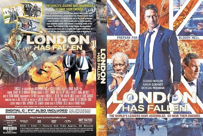 dvd cover London Has Fallen DVD Cover