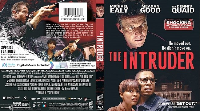 dvd cover The Intruder Bluray Cover