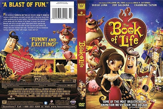 dvd cover The Book of Life DVD Cover