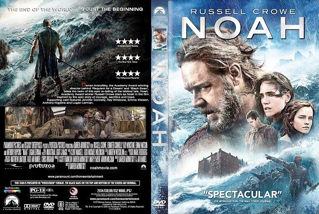 dvd cover Noah DVD Cover