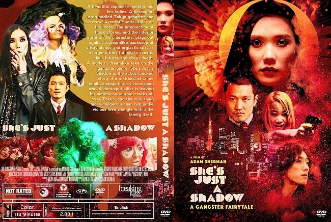 dvd cover She's Just a Shadow DVD Cover