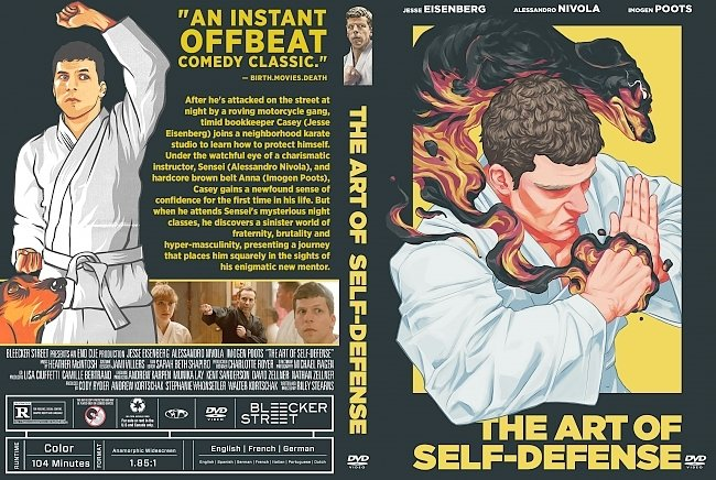 dvd cover The Art of Self-Defense DVD Cover